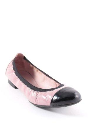Pretty ballerinas Ballerinas schwarz-rosa Casual-Look