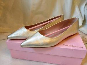 Pretty Ballerinas beige Gold
