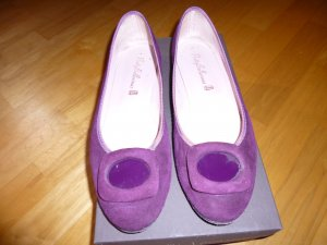 Pretty ballerinas Ballerines pliables violet daim