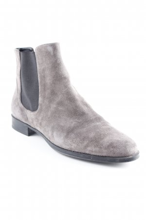 Pretty ballerinas Chelsea Boots silberfarben-schwarz Street-Fashion-Look