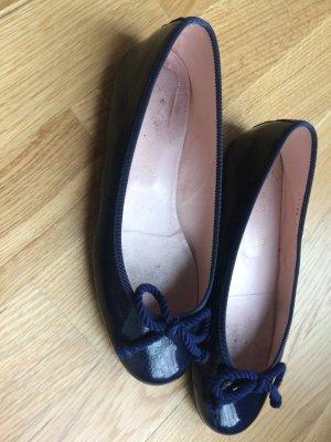 Pretty Ballerinas dunkelblau lack