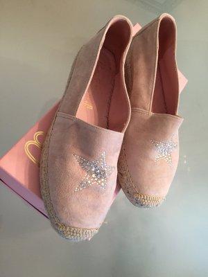 Pretty ballerinas Ballerinas dusky pink suede