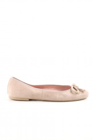 Pretty ballerinas faltbare Ballerinas nude Casual-Look