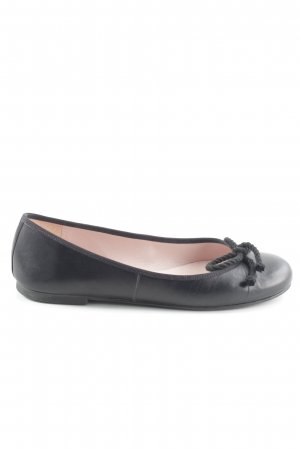 Pretty ballerinas faltbare Ballerinas schwarz Business-Look