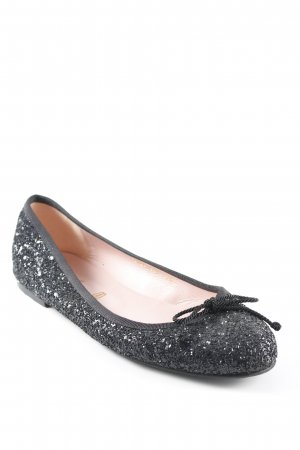 Pretty ballerinas faltbare Ballerinas schwarz Party-Look