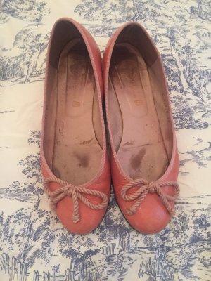 Pretty Ballerinas in rosa Lachs gr 39 Lack