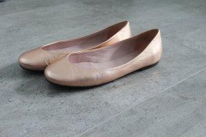 Pretty Ballerinas in Rosé-Metallic rund