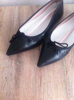 Pretty Ballerinas in schwarz , Gr.38,5 , echtleder