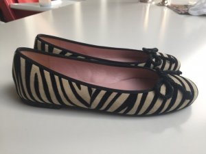 Pretty Ballerinas in Zebra-Fell-Optik