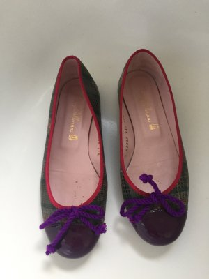 Pretty Ballerinas Karo Check Gr.37,5 lila