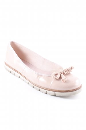 Pretty ballerinas Patent Leather Ballerinas dusky pink street-fashion look
