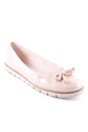 Pretty ballerinas Lackballerinas altrosa Street-Fashion-Look