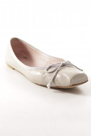 Pretty ballerinas Lackballerinas hellgrau Casual-Look