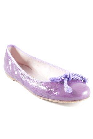 Pretty ballerinas Lackballerinas lila Elegant
