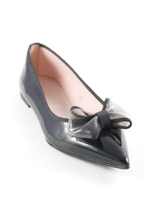 Pretty ballerinas Lackballerinas schwarz Elegant