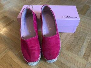 Pretty Ballerinas Leder Espadrilles pink 36