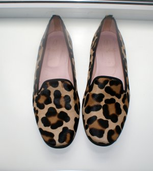 Pretty Ballerinas Leopard print, 40, echtes Ponyfell