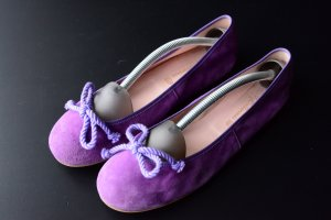 Pretty ballerinas Mary Jane Ballerinas lilac suede