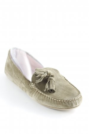 Pretty ballerinas Mokassins khaki Business-Look