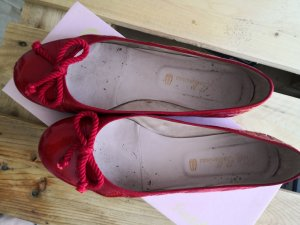 Pretty Ballerinas Rot Lack  Patent Leather 38