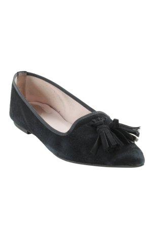 Pretty ballerinas Schlüpfschuhe schwarz schlichter Stil