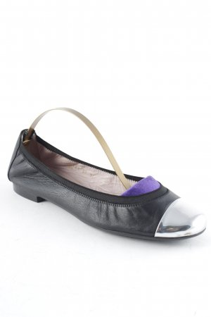 Pretty ballerinas Slip-on Shoes black-silver-colored casual look
