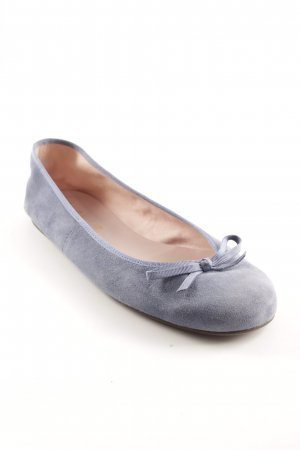 Pretty ballerinas Slingback Ballerinas steel blue-cornflower blue simple style