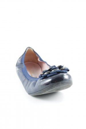 Pretty ballerinas Slippers black-blue elegant