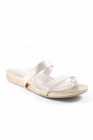 Pretty ballerinas Strandsandalen goldfarben Beach-Look