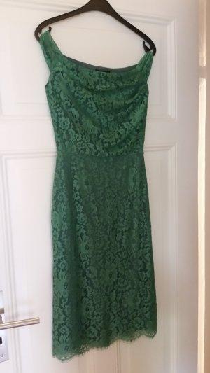 Pretty Eccentric Nigella dress in flower lace, grün