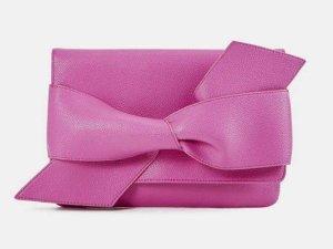 Pretty in Pink: stylische Clutch mit großer Schleife (NEU)