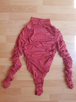 PrettyLittleThing Bodyblouse donker oranje-roodbruin