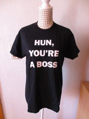 Asos Shirt met print zwart