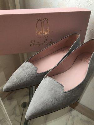 Pretty loafers aus Wildleder