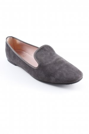 Pretty Loafers Mokassins dunkelgrau Elegant