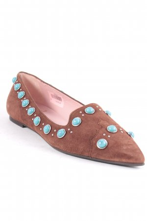 Pretty Loafers Slipper mehrfarbig Boho-Look