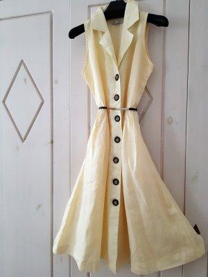 Pretty Woman: ein romantisches Sommerkleid, Gr. 36, Zitronengelb