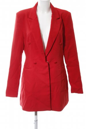 PrettyLittleThing Short Coat red elegant