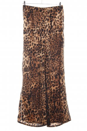 PrettyLittleThing Stoffhose Animalmuster Animal-Look