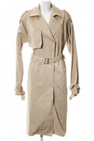 PrettyLittleThing Trenchcoat creme Brit-Look