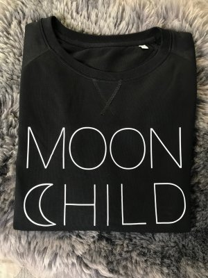 Prettysucks printed Sweatshirt Moon Child