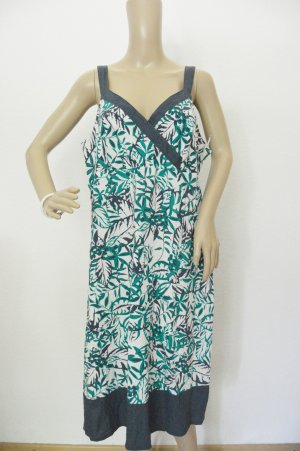5 Preview Maxi-jurk wit-donkerblauw