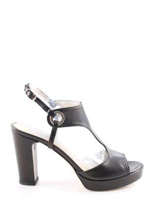 Preziosa T-Strap Pumps black business style