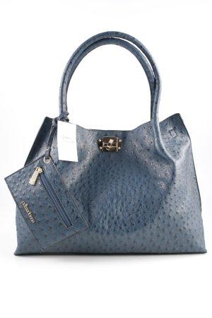 primadonna Carry Bag dark blue-black spot pattern elegant