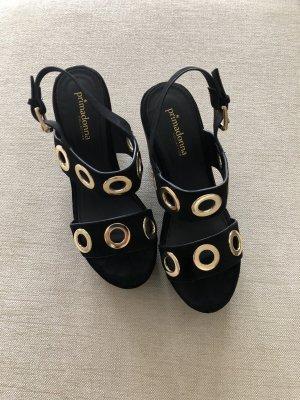 primadonna Strapped High-Heeled Sandals black