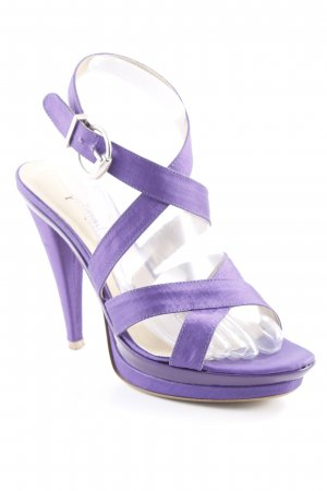 primadonna Riemchenpumps lila Party-Look