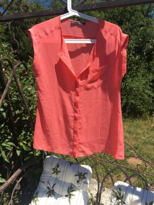 Primark Atmosphere Bluse Lachs Apricot 38