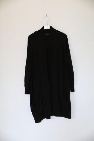 Primark Atmosphere Cardigan Gr. 10 38 schwarz Long Strickjacke