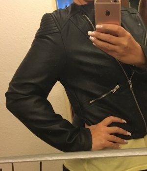 Primark Atmosphere Leder Jacke Gr 40 schwarz neu