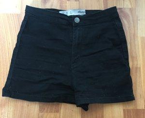 Primark atmosphere schwarze Hotpants shorts s 36 kurze Hose high waist Blogger